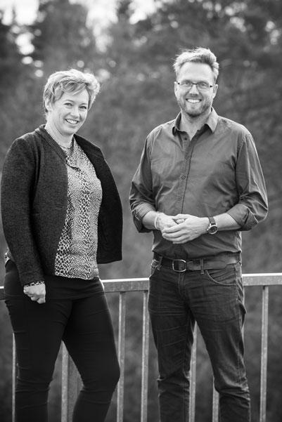 Annemette og Mads coaching